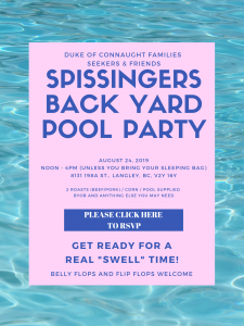 Backyard BBQ & Pool Party @ Backyard